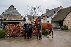 VDM Stables - Eksaarde 2020<br /> © Hippo Foto - Dirk Caremans<br /> 27/01/2020