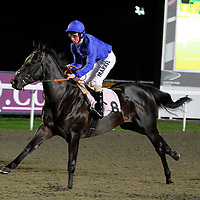 Rassam and William Buick winning the 5.50 race