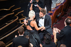 Lady Gaga and Bradley Cooper during the live ABC Telecast of The 91st Oscars® at the Dolby® Theatre in Hollywood, CA on Sunday, February 24, 2019.