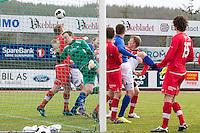 1. divisjon fotball 2014: Hødd - Tromsdalen.  Straffe til Hødd i 1. divisjonskampen mellom Hødd og Tromsdalen på Høddvoll.