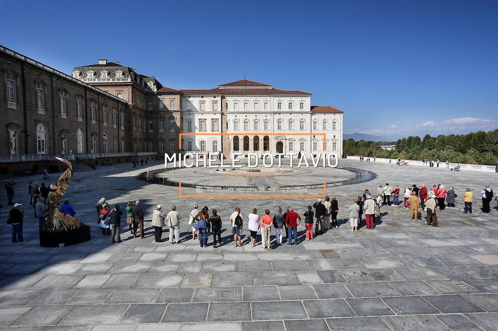 la Reggia di Venaria è una delle principali residenze sabaude in Piemonte.