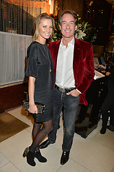 TIM & MALIN JEFFERIES at a dinner to celebrate the publication of Obsessive Creative by Collette Dinnigan hosted by Charlotte Stockdale and Marc Newson held at Mr Chow, Knightsbridge, London on 9th February 2015.