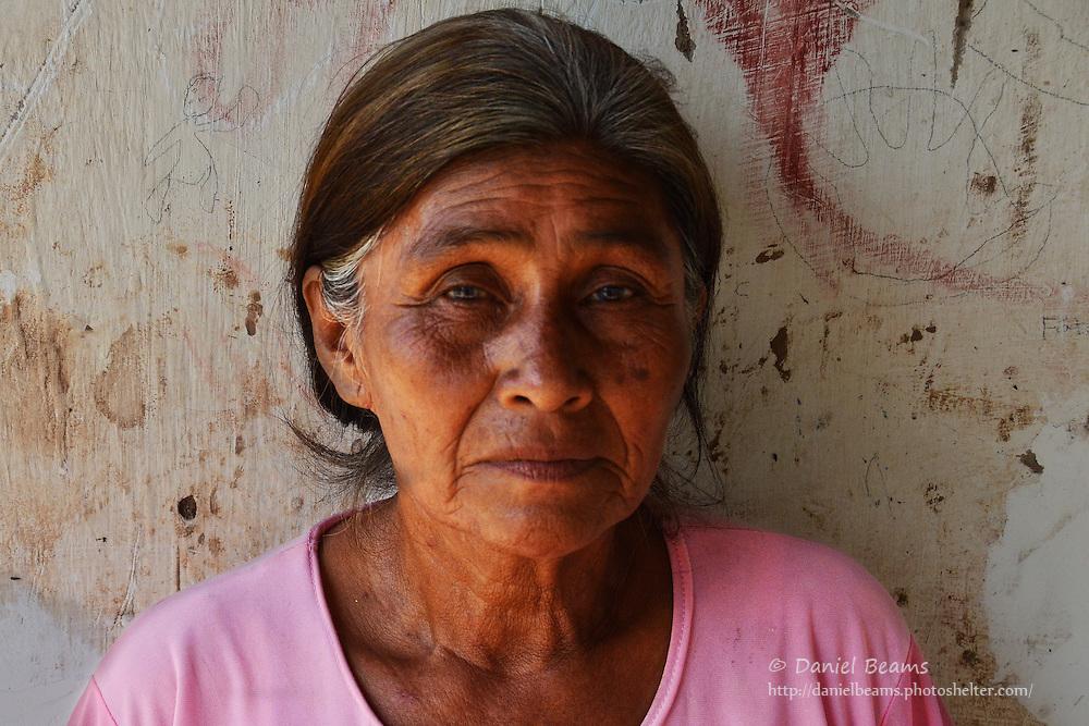 Guarani woman in Pirirenda, Gutierrez, Santa Cruz, Bolivia