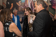 ALEXANDRA SHULMAN; DAKOTA JOHNSON; MARIO TESTINOVogue100 A Century of Style. Hosted by Alexandra Shulman and Leon Max. National Portrait Gallery. London. WC2. 9 February 2016.