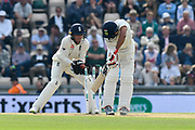 Wicket - Ishant Sharma of India is bowled by Moeen Ali of England during day two of the fourth SpecSavers International Test Match 2018 match between England and India at the Ageas Bowl, Southampton, United Kingdom on 31 August 2018.