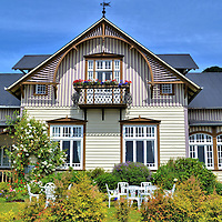 Hotel Kaffee Bauernhaus in Frutillar, Chile <br />