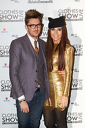 © Licensed to London News Pictures.  07/12/2012. BIRMINGHAM, UK. Stylist Grace Woodward (pictured right) and fashion designer Henry Holland (pictured left) is seen during the opening photo call for the Clothes Show Live event being held in the NEC, Birmingham. The show opens today and runs until Tuesday. Photo credit :  Cliff Hide/LNP