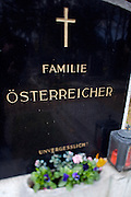 "Allerheiligen (All Saints) at Vienna's ""Zentralfriedhof"" (""Central Cemetary""), the city's biggest graveyard. Familie O?sterreicher-unvergesslich! Family Austrians-unforgettable!"