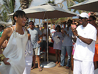 **EXCLUSIVE**.Chris Tucker.Cain at the Cove Hotel Opening.Kaimilla Fashion Show at the Cain pool.Paradise Island, Bahamas.Friday, May 11, 2007 .Photo By Celebrityvibe.To license this image please call (212) 410 5354; or.Email: celebrityvibe@gmail.com ;