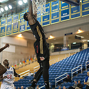 Erie BayHawks Forward CJ Leslie (11) dunks the ball on a break away in the second half of a NBA D-league regular season basketball game between the Delaware 87ers (76ers) and the Erie BayHawks (Knicks) Monday, Jan 13, 2014 at The Bob Carpenter Sports Convocation Center, Newark, DE