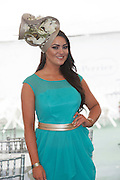 31/07/2015 Laura Fox from Galway at  Friday evening Meeting of the Galway Races. Photo:Andrew Downes