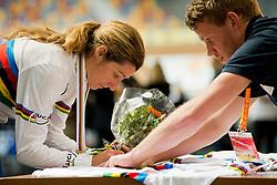 , USA, Podium 500m TT, 2015 UCI Para-Cycling Track World Championships, Apeldoorn, Netherlands
