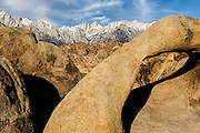 Mount Whitney from the Alabama Hills in Lone Pine, California