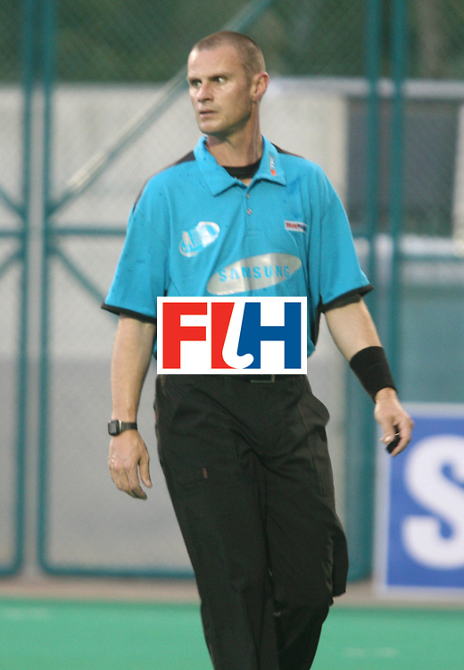 Kuala Lumpur : Umpire at the Samsung Hockey Men Champions Trophy .  <br /> Photo:GNN/Vino John
