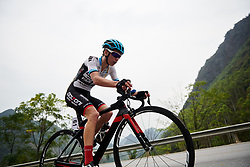 Mieke Docx (BEL) at GREE Tour of Guangxi Women's WorldTour 2019 a 145.8 km road race in Guilin, China on October 22, 2019. Photo by Sean Robinson/velofocus.com