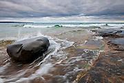 Pictured Rocks National Lakeshore, Lake Superior, Alger County, Michigan