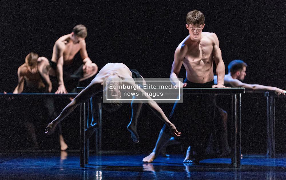 Scottish Ballet perform two works (MC14/22 and Emergence) in the Edinburgh International Festival