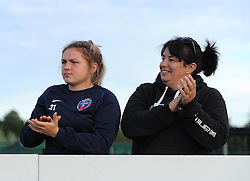 Supporters applaud the final rally from Bristol Academy Women against Sunderland AFC Ladies - Mandatory by-line: Paul Knight/JMP - 25/07/2015 - SPORT - FOOTBALL - Bristol, England - Stoke Gifford Stadium - Bristol Academy Women v Sunderland AFC Ladies - FA Women's Super League
