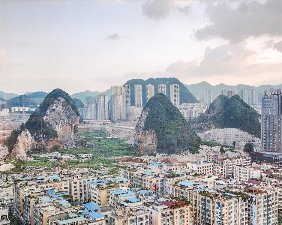 Liupanshui City, Guizhou, China.