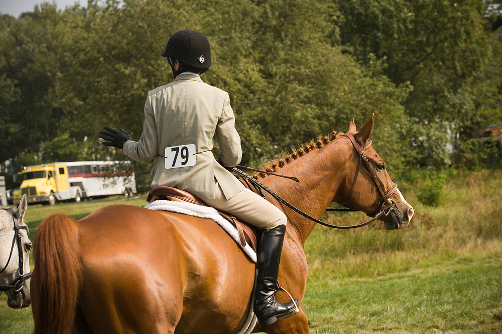 Riders and horses at the 2011 Myopia Horse Show