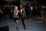 NATHALIE PRESS; TOLULA ADEYEMI; ,- Nokia and Daid Bailey celebrate London ' Alive at Night' to launch Nokia N86. the Old Dairy, 6 Wakefield st. London. WC1. 26 August 2009.