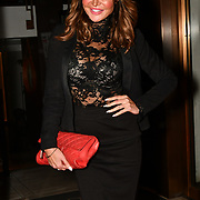 Lizzie Cundy Arrivers  Ray Burmiston - fundraising exhibition  at The Athenaeum Hotel, London, UK. 5th Feb 2019.