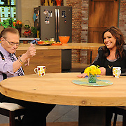 "Rachael Ray and Larry King on ""The Rachael Ray Show"""