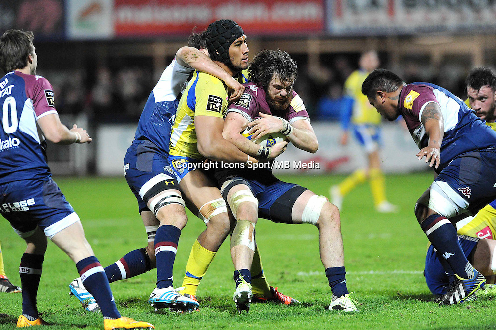 Hugh CHALMERS - 13.03.2015 - Clermont / Begles Bordeaux  -  20eme journee de Top 14<br /> Photo : Jean Paul Thomas  / Icon Sport<br /> <br />   *** Local Caption ***