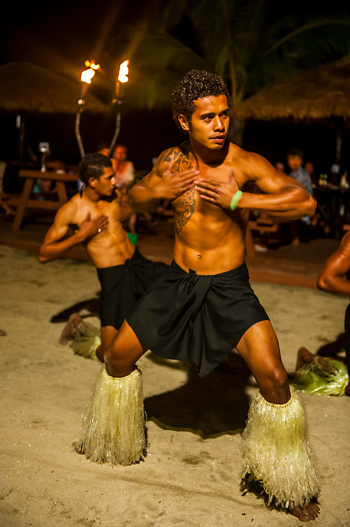 Fireadance, Viti Levu, Fiji, South Pacific