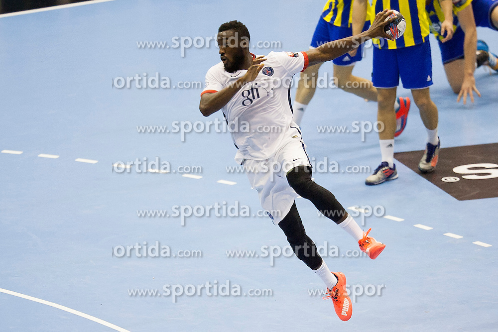 Luc Abalo of Paris Saint-Germain during handball match between RK Celje Pivovarna Lasko (SLO) and Paris Saint-Germain (FRA) in Round #5 of Group Phase of EHF Champions League 2015/16, on October 18, 2015 in Arena Zlatorog, Celje, Slovenia. Photo by Urban Urbanc / Sportida