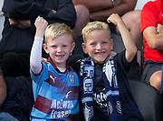 4th August 2018, Simple Digital Arena, Paisley, Scotland; Ladbrokes Premiership football, St Mirren versus Dundee; Dundee fans