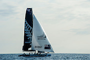 Emirates Team New Zealand. Day two of the Extreme Sailing Series at Nice. 3/10/2014