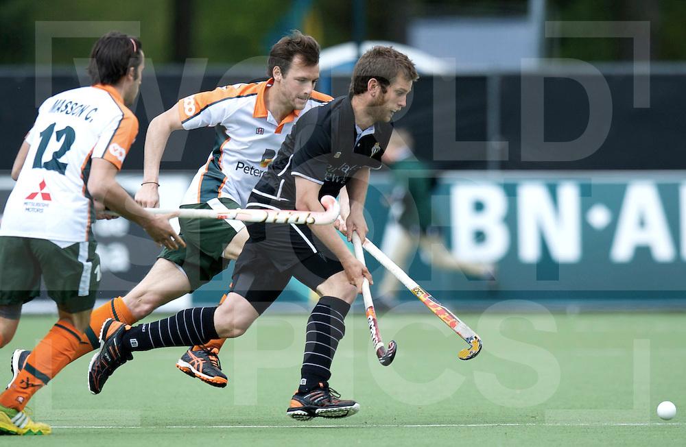 EINDHOVEN- Euro Hockey Leaque KO16<br /> Waterloo Ducks - Racing Club de Bruxelles<br /> foto: Lucas de Mot.<br /> FFU PRESS AGENCY COPYRIGHT FRANK UIJLENBROEK
