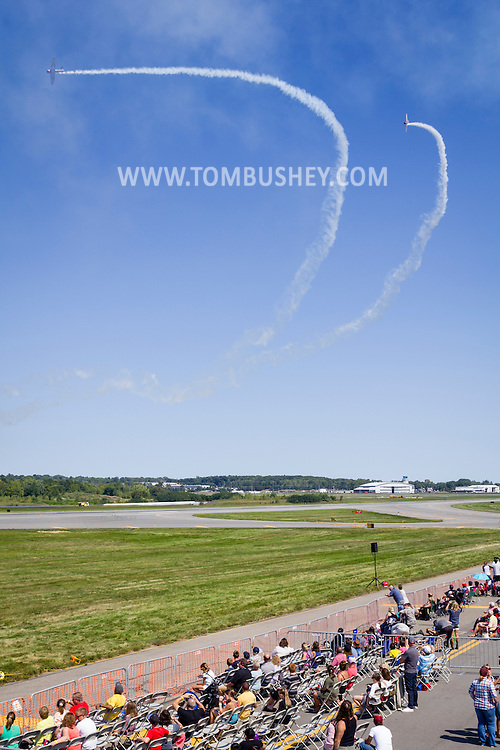 New Windsor, New York - Scenes from the second day of the New York Air Show at Stewart International Airport on Sept. 4, 2016.