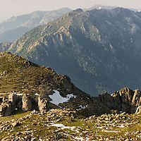 Amazing landscapes in the heart of Corsica.