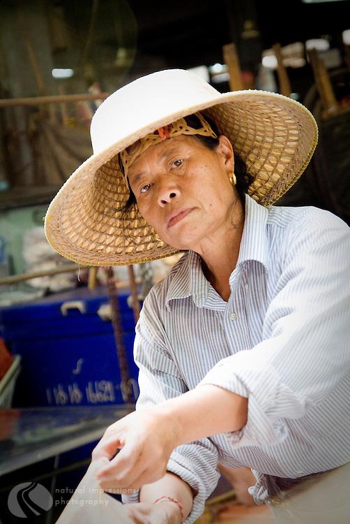 Bangkok, market lady