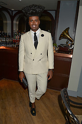 PRINCE CASSIUS at a party to celebrate the launch of the new club Charlie, 15 Berkeley Street, London on 9th September 2015.
