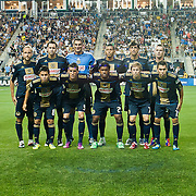 Philadelphia Union starter pose a picture before the start of an MLS regular season match between The Philadelphia Union and The Houston Dynamo. <br /> <br /> The Dynamo and The Philadelphia Union played to a 1-1 tie. Saturday Aug. 6, 2011, at PPL Park in Chester PA.<br /> <br /> The News Journal/SAQUAN STIMPSON