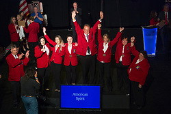 The 2017 SkillsUSA National Leadership and Skills Conference Competition Medalists were announced Friday, June 23, 2017 at Freedom Hall in Louisville. <br /> <br /> American Spirit<br /> <br /> 	Team H (consisting of Jacob Riley, Briana Cain, Dylan Shively)<br />   High School	 Buckeye Hills Career Center<br />   Gold	 Rio Grande, OH<br /> American Spirit	Team L (consisting of Victoria Navarro, Skylar Brimberry, Ariana Aquino)<br />   High School	 Birdville Center of Technology &amp; Advanced Learning<br />   Silver	 North Richland Hills, TX<br /> American Spirit	Team C (consisting of Taylor-Rae Redrup, Carina Makel, Alyssa Foti)<br />   High School	 Gloucester County Institute of Technology<br />   Bronze	 Sewell, NJ<br /> American Spirit	Team A (consisting of Karen Ballew, Ric English, Jennifer Remillard)<br />   College	 Lanier Technical College<br />   Bronze	 Oakwood, GA