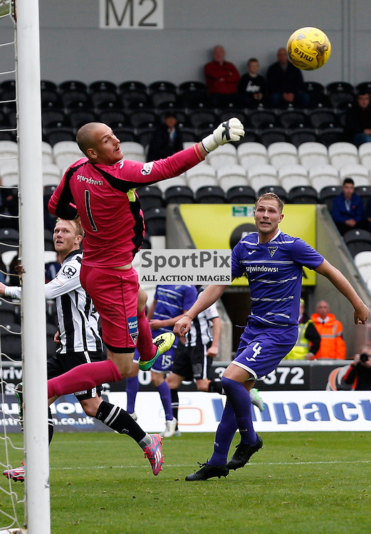 St.Mirren v Dunfermline Athletic, PETROFAC TRAINING CUP 1/4 Final 10th October 2015..Sean Murdoch in action....(c) STEPHEN LAWSON | SportPix.org.uk