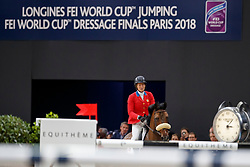 MADDEN Elizabeth (USA), Breitling LS<br /> Paris - FEI World Cup Finals 2018<br /> Longines FEI World Cup Jumping Final III<br /> www.sportfotos-lafrentz.de/Stefan Lafrentz<br /> 15. April 2018