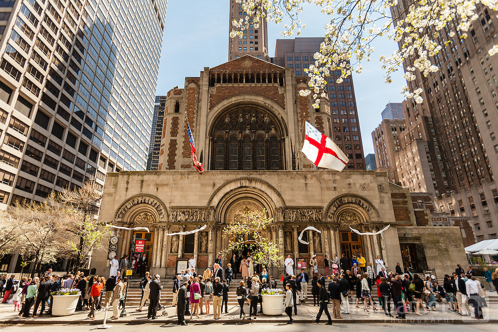 Easter at St. Bart's Church.