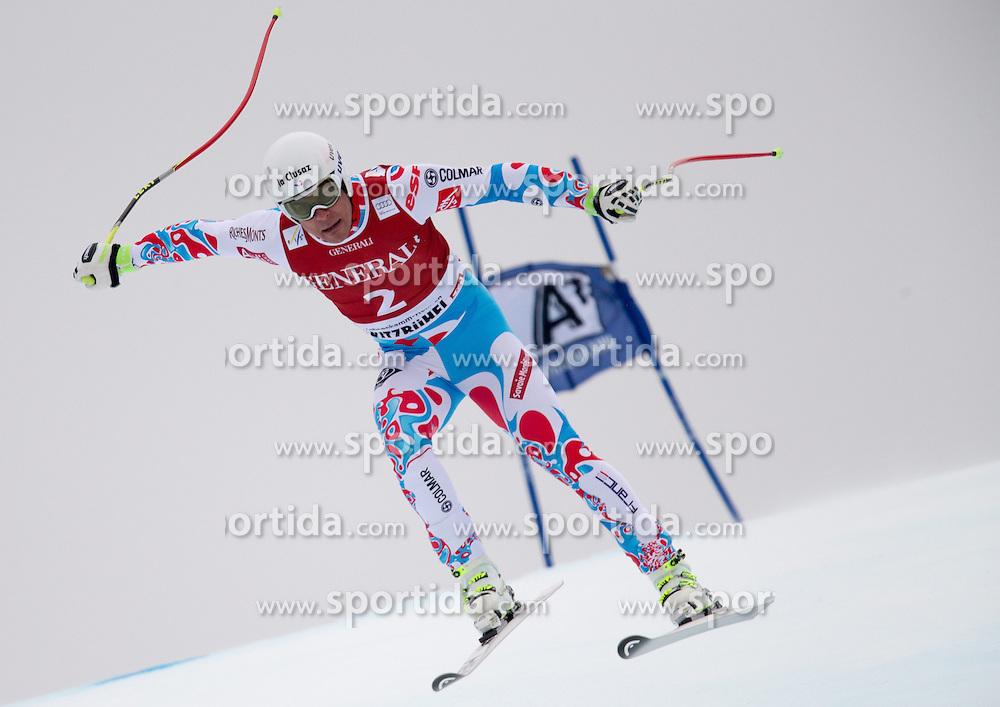 23.01.2015, Streif, Kitzbuehel, AUT, FIS Ski Weltcup, Supercombi Super G, Herren, im Bild Johan Clarey (FRA) // Johan Clarey of France in action during the men's Super Combined Super-G of Kitzbuehel FIS Ski Alpine World Cup at the Streif Course in Kitzbuehel, Austria on 2015/01/23. EXPA Pictures © 2015, PhotoCredit: EXPA/ Johann Groder