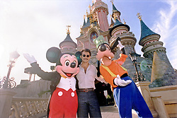 Saudi prince and billionaire Alwaleed Bin Talal Bin Abdulaziz Al Saud (or Al Waleed or Al Walid) seen in a file photo dated August 1998 in the Disneyland Paris theme park, near Paris, France. News confirm the Prince was arrested with other members of Royal Family and businessmen in Riyadh on November 4, 2017. Photo by Balkis Press/ABACAPRESS.COM  | 613940_004 Paris France