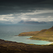 Cleadale to the Isle of Skye, Isle of Eigg, Scotland.