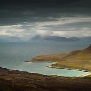 Cleadale to the Isle of Skye, Isle of Eigg, Scotland.