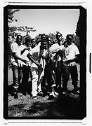 Group of youths,Catford, London 2010