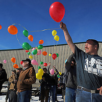 The Sioux Steel Company observed the one-year anniversary of the workplace shooting at its Lennox location that left two dead, and two injured.<br /> There was a balloon release, eight minutes of silence, and a plaque dedication for Jon Richter. Richter was shot and killed February 12, 2015, by Jeffrey DeZeeuw of Sioux Falls, who was later found dead in a burned out semi-truck.