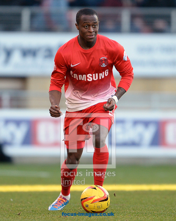 Picture by Andrew Timms/Focus Images Ltd +44 7917 236526<br /> 11/01/2014<br /> Moses Odubajo of Leyton Orient during the Sky Bet League 1 match against Carlisle United at the Matchroom Stadium, London.