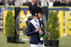 Baryard-Johnsson Malin (SWE)<br /> FEI Nations Cup of Sweden - Falsterbo 2012<br /> © Hippo Foto - Beatrice Scudo